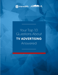 Your Top 10 Questions About TV Advertising Answered Cover